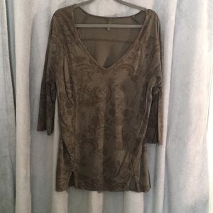Earth colored tunic